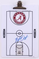 Nate Oats Signed Alabama Crimson Tide Dry Erase Basketball Clipboard (JSA COA) at PristineAuction.com