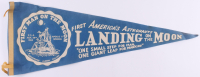 """Vintage 1969 Moon Landing 28"""" Pennant at PristineAuction.com"""