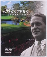 Authentic 2002 The Masters Tournament Program at PristineAuction.com