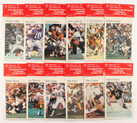 Lot of (60) Vintage NFL Mini-Posters at PristineAuction.com