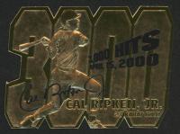 Cal Ripken Jr. LE 2000 Bleachers 23Kt Gold Card at PristineAuction.com
