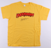 Hulk Hogan Signed Hulkmania Shirt (Schwartz COA) at PristineAuction.com