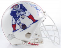 """Andre Tippett Signed Patriots Authentic On-Field Helmet Inscribed """"HOF '08"""" (JSA COA) at PristineAuction.com"""