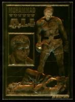 Muhammad Ali 1996 Bleachers 23Kt Gold Card at PristineAuction.com