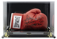 Yoko Gushiken Signed Everlast Boxing Glove With Display Case (JSA COA) at PristineAuction.com
