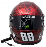 Dale Earnhardt Jr. Signed Full-Size Racing Helmet (Beckett COA, PA Hologram, JR Motorsports Hologram) at PristineAuction.com