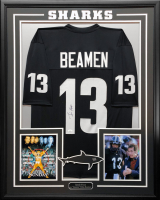 "Jamie Foxx Signed ""Steamin Willie Beamen"" Any Given Sunday 34.5x42.5 Custom Framed Jersey (JSA COA) at PristineAuction.com"