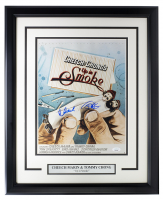 "Cheech Marin & Tommy Chong Signed ""Up in Smoke"" 16x20 Custom Framed Photo Display (JSA COA) at PristineAuction.com"