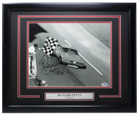 "Richard Petty Signed ""The King"" 16x20 Custom Framed Photo Display (PSA COA) at PristineAuction.com"