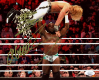 Apollo Crews & Tyler Breeze Signed WWE 8x10 Photo (JSA COA) at PristineAuction.com