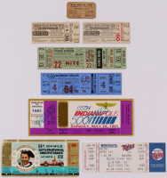 Lot Of (8) Assorted Vintage Sports Tickets at PristineAuction.com