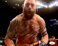 Travis Browne Signed UFC 8x10 Photo (JSA COA) at PristineAuction.com