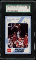 Michael Jordan 1989-90 North Carolina Collegiate Collection #13 (SGC 9) at PristineAuction.com