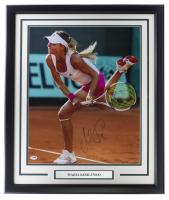Maria Kirilenko Signed Red Wings 22x27 Custom Framed Photo Display (PSA Hologram) at PristineAuction.com