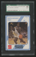 Michael Jordan 1989-90 North Carolina Collegiate Collection #17 (SGC 9) at PristineAuction.com