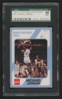 Michael Jordan 1989-90 North Carolina Collegiate Collection #15 (SGC 9) at PristineAuction.com