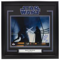 "Dave Prowse Signed ""Star Wars: Empire Strikes Back"" 16x20 Custom Framed Photo Display Inscribed ""Is Darth Vader"" (PSA Hologram & Fanatics Hologram) at PristineAuction.com"