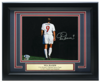 Mia Hamm Signed Team USA 11x14 Custom Framed Photo Display (Beckett COA) at PristineAuction.com