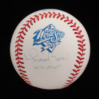 "Mariano Rivera Signed 1999 World Series Baseball Inscribed ""W.S MVP"" (Steiner COA) at PristineAuction.com"