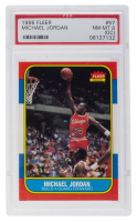 Michael Jordan 1986-87 Fleer #57 RC (PSA 8) at PristineAuction.com