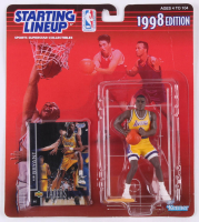 Kobe Bryant 1998 Series Starting Lineup Figurine with Sealed Upper Deck Card at PristineAuction.com