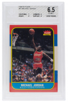 Michael Jordan 1986-87 Fleer #57 RC (BGS 6.5) at PristineAuction.com
