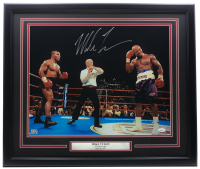 "Mike Tyson Signed ""The Bite Fight"" 22x26 Custom Framed Photo Display (JSA COA) at PristineAuction.com"