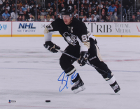 Sidney Crosby Signed Penguins 11x14 Photo (Beckett COA) at PristineAuction.com