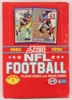 1990 Score NFL Football Series 1 Box with (36) Packs at PristineAuction.com