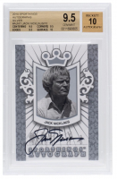Jack Nicklaus 2010 Sportkings Autograph Silver #AJNI1 (BGS 9.5) at PristineAuction.com