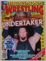 The Undertaker Signed 1999 Wrestling Magazine (Beckett COA) at PristineAuction.com