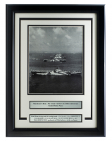 Murderer's Row World War II 15x20 Custom Framed Photo Display at PristineAuction.com