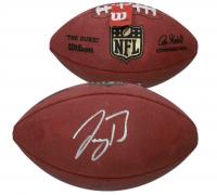 """Joe Burrow Signed """"The Duke"""" Official NFL Game Ball (Fanatics Hologram) at PristineAuction.com"""