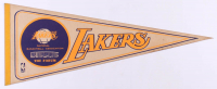 1978 Lakers The Forum Logo Pennant at PristineAuction.com
