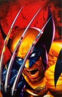 "Greg Horn Signed Marvel ""Wolverine"" 11x17 Lithograph (JSA COA) at PristineAuction.com"