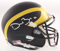 Devin Bush Signed Michigan Wolverines Mini-Helmet (TSE COA) at PristineAuction.com