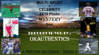 OKAUTHENTICS Multi-sport & Celebrity 8x10 Photo Mystery Box Series II at PristineAuction.com