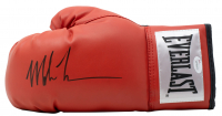 Mike Tyson Signed Everlast Boxing Glove With High Quality Display Case (JSA COA) at PristineAuction.com