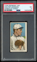 Walter Johnson 1909-11 T206 #235 / Hands at Chest - Piedmont (PSA 5) at PristineAuction.com