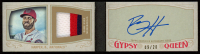 Bryce Harper 2016 Topps Gypsy Queen Mini Patch Autograph Booklets #MAPBH at PristineAuction.com