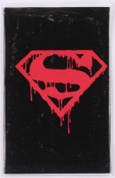 "1992 ""Superman"" Issue #75 DC Comic Book Black Bag Memorial Set at PristineAuction.com"