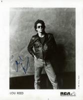 Lou Reed Signed 8x10 Photo (JSA COA) at PristineAuction.com
