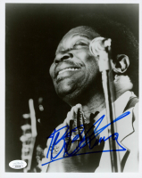 B.B. King Signed 8x10 Photo (JSA COA) at PristineAuction.com