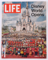 Vintage 1971 Life Magazine with Disney World Opening Cover at PristineAuction.com