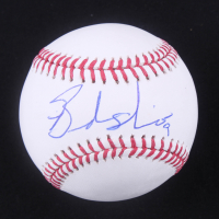 Brandon Nimmo Signed OML Baseball (JSA COA) at PristineAuction.com