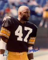 Mel Blount Signed Steelers 8x10 Photo (Beckett COA) at PristineAuction.com