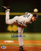 Mike Mussina Signed Yankees 8x10 Photo (Beckett COA) at PristineAuction.com
