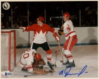 Vladislav Tretiak Signed Team Soviet Union 8x10 Photo (Beckett COA) at PristineAuction.com