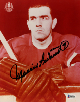 """Maurice """"Rocket"""" Richard Signed Canadiens 8x10 Photo (Beckett COA) at PristineAuction.com"""