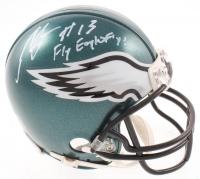 "Nelson Agholor Signed Eagles Mini Helmet Inscribed ""Fly Eagles Fly!"" (JSA COA) at PristineAuction.com"